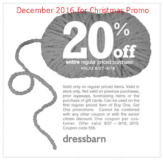 Dress Barn coupons december 2016