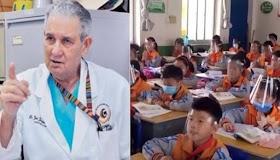"""Doctor advierte sobre peligro de iniciar año escolar dice """"No abramos hasta Enero"""""""
