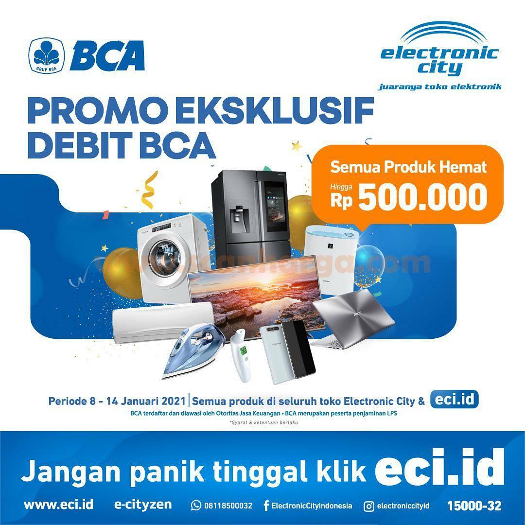 Electronic City Promo Semua Produk Hemat hingga Rp 500.000 dengan DEBIT BCA