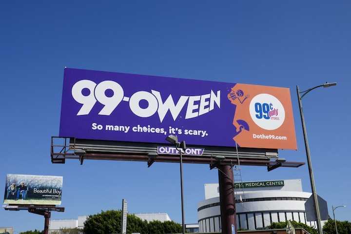 99oween 2018 billboard