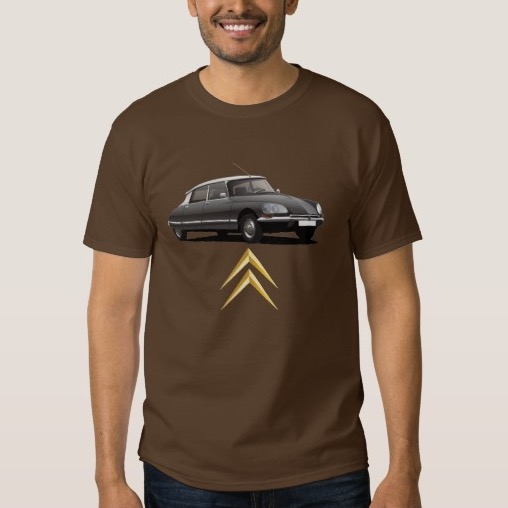 CItroën DS t-shirt black DIY