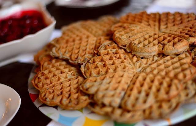 Oatmeal Waffles recipe rvrecipes