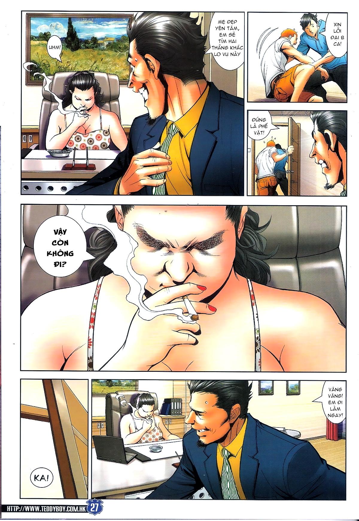 Người Trong Giang Hồ chapter 1645: làm khó đại b chảy trang 25