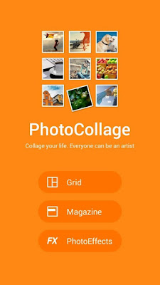 Aplikasi PhotoCollage Asus Zenfone 2