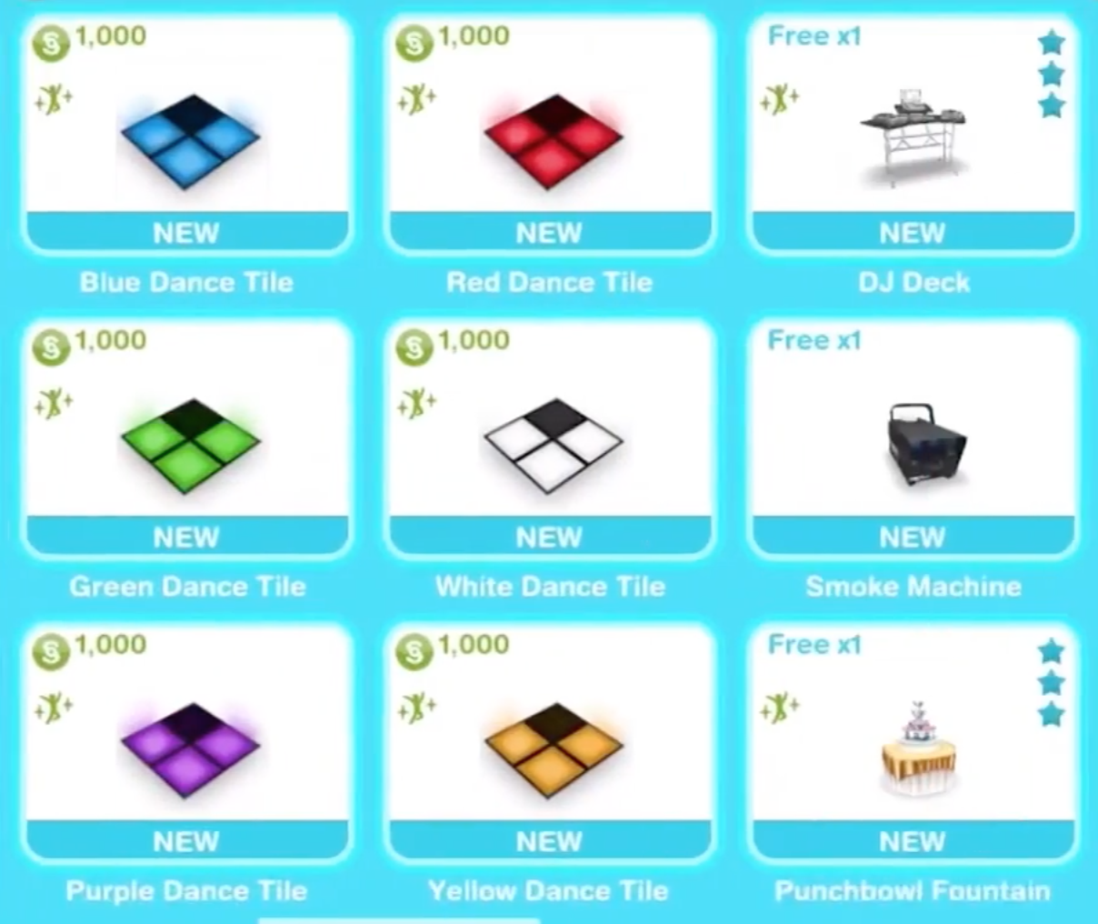 how to make a party on sims freeplay