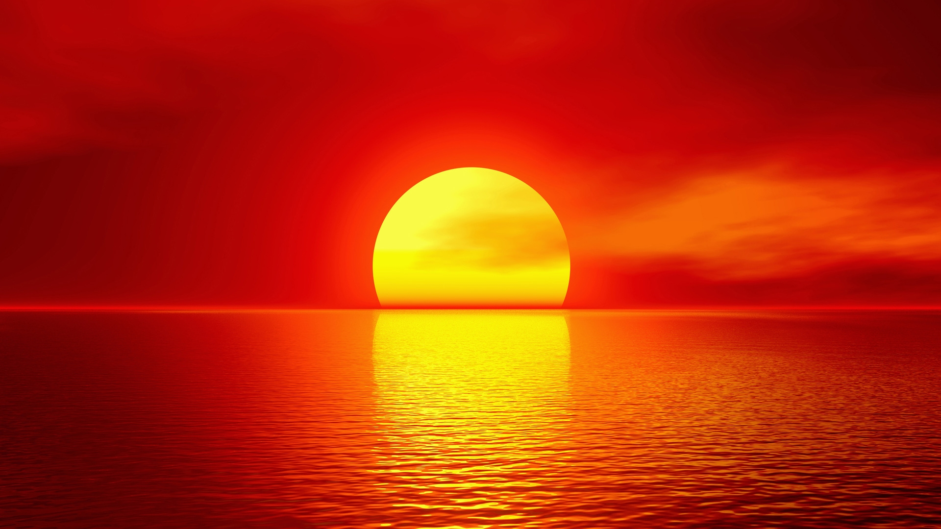Amazing Summer Sunset - High Definition Wallpapers - HD ...