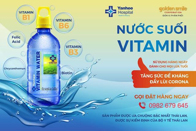 Nước suối YanHee Thái Lan