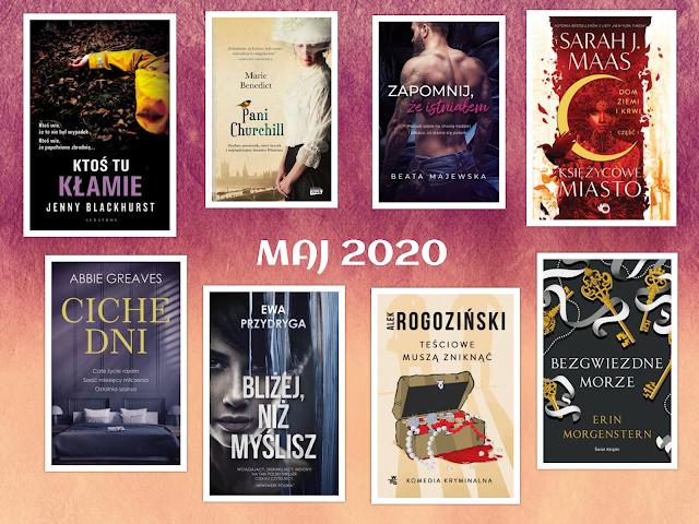Zapowiedzi wydawnicze - maj 2020