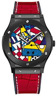 Montre Hublot Classic Fusion Britto Only Watch 2015