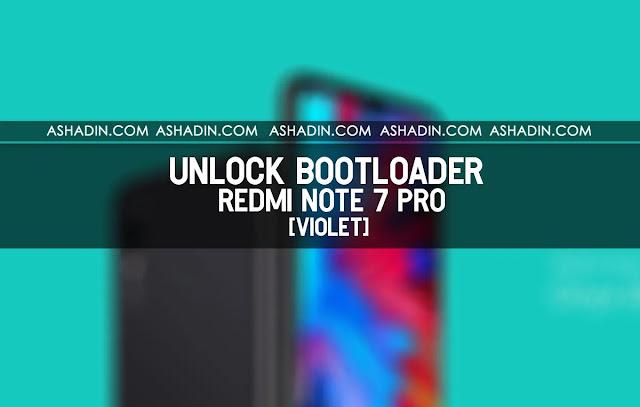 Panduan Unlock Bootloader (UBL) Redmi Note 7 Pro termudah