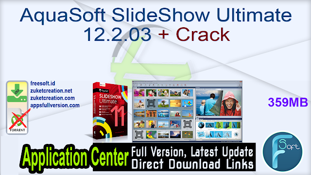 AquaSoft SlideShow Ultimate 12.2.03 + Crack