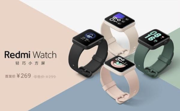 Redmi Watch - o primeiro smartwatch da marca