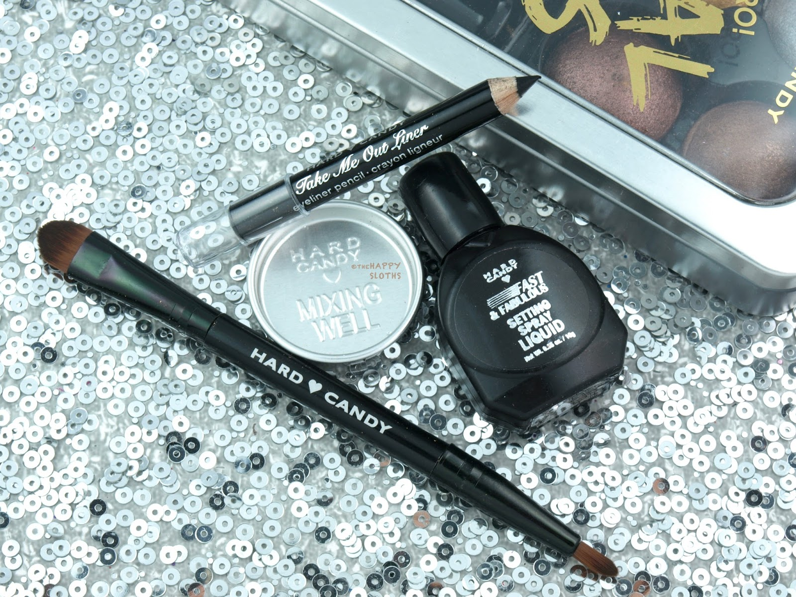 Hard Candy Look Pro! Metal Eyes Kit: Review and Swatches