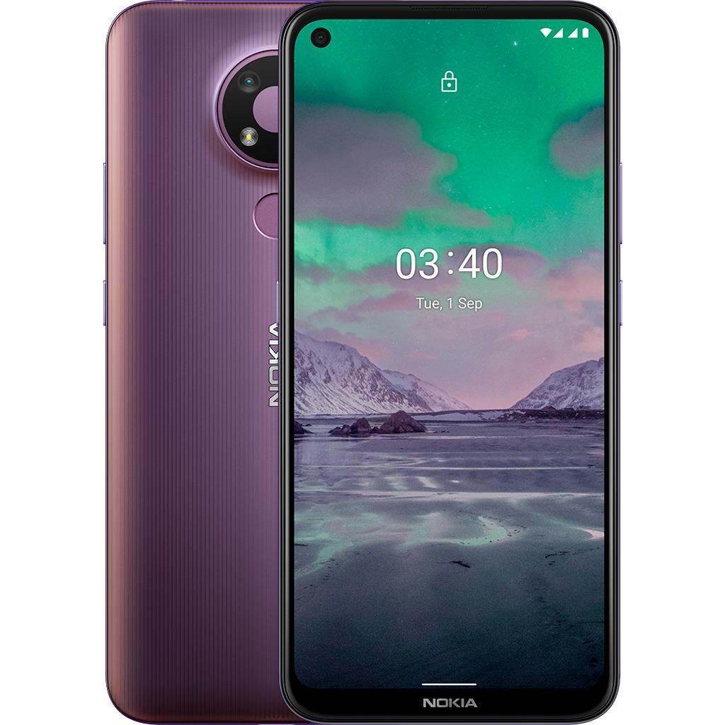 Điện thoại Nokia 3.4 4GB/64GB Tím