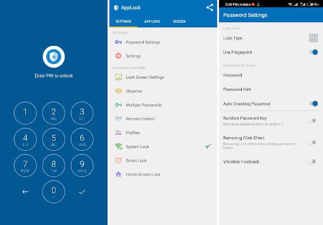 افضل 6 برامج قفل التطبيقات برقم سري للاندرويد