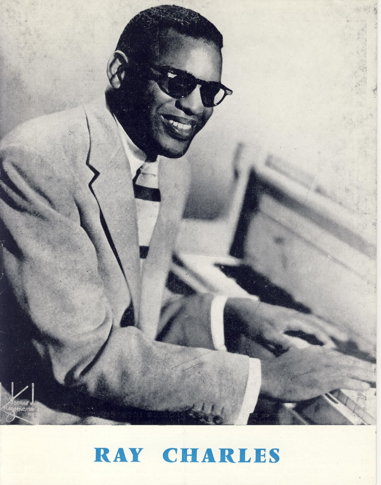 Ray Charles Video Museum: The Ray Charles Big Band's First Concert