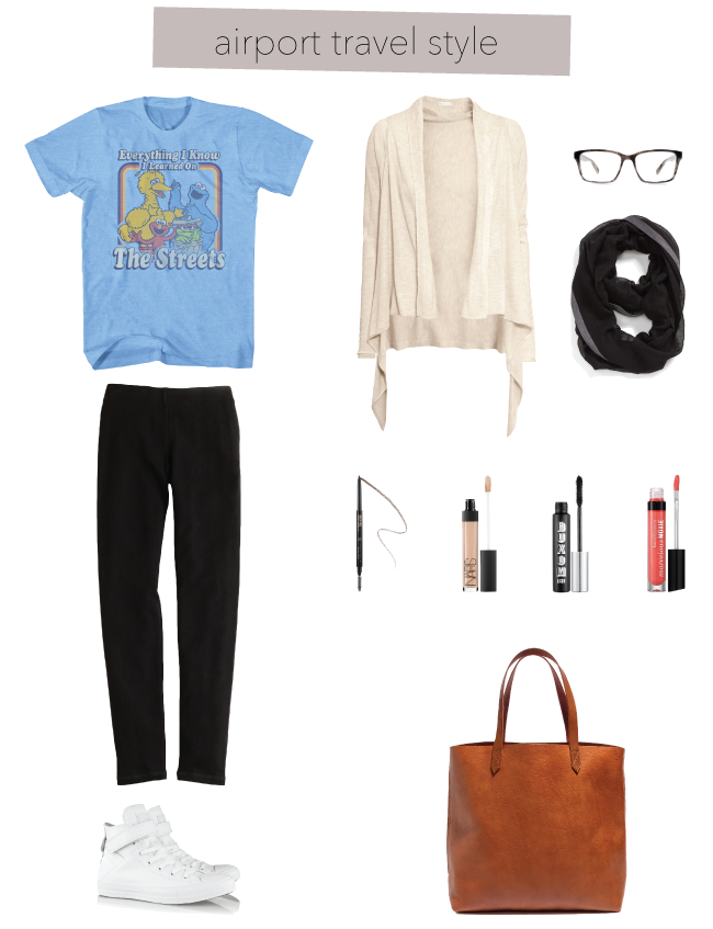 Airport Travel Style // A Style Caddy