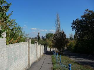 Новгородское. Подъём-спуск на Петровскую гору