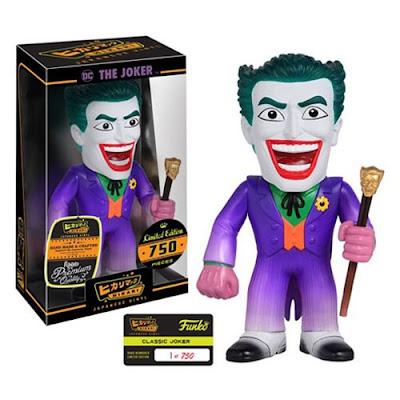 "The Joker ""Classic"" DC Comics Hikari Sofubi Vinyl Figure by Funko"