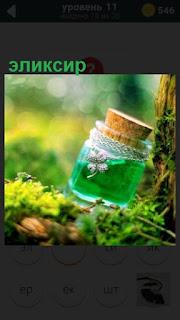 275 слов в бутылочке находится эликсир, который лежит около дерева 11 уровень