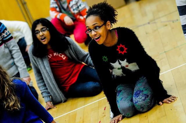 Welsh National Youth Opera Sing Club (Photo Kirsten McTernan)