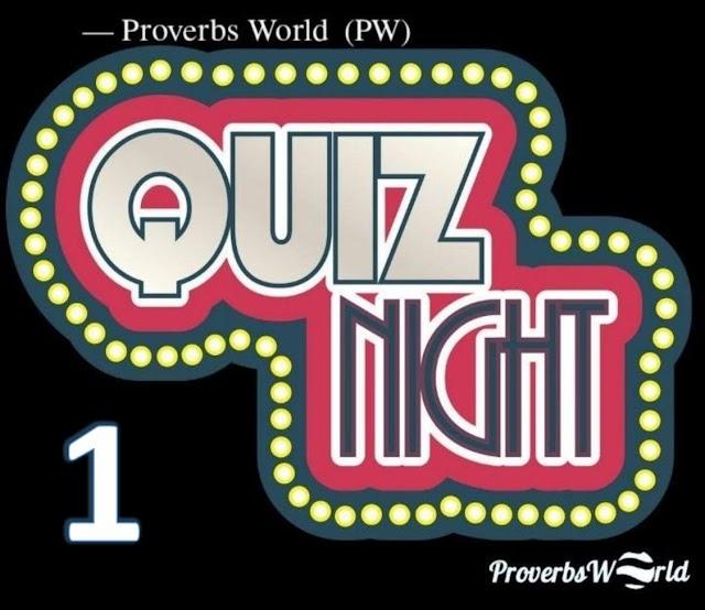 Proverbs World Quiz