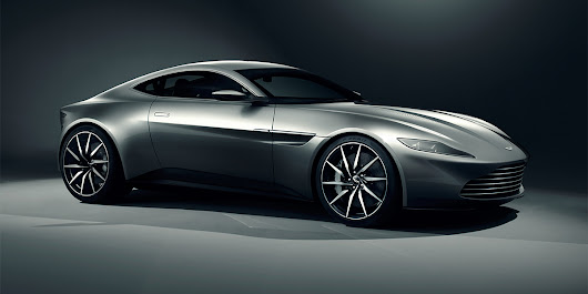 new james bond's Aston Martin DB10