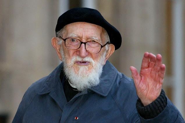 Ranskalainen pappi ja poliitikko Abbe Pierre