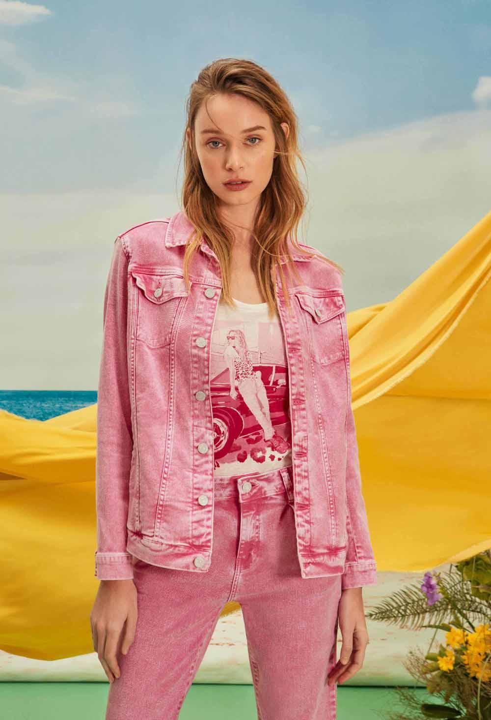 moda verano 2021 colores de moda denim jeans mujer