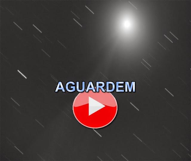 transmissão ao vivo - cometas - março 2016