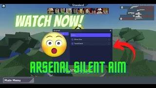 ROBLOX - ARSENAL GUI SILENT AIM | PASTEBIN