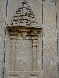 Shrine on the outer wall