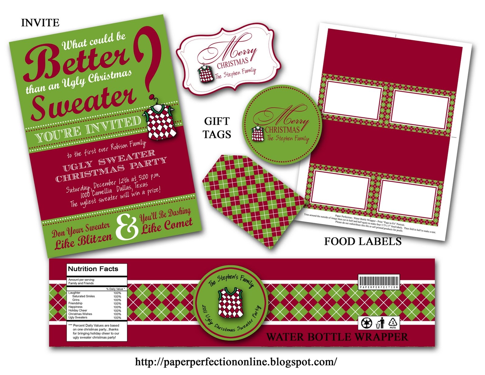 1086e2b16a94c1 If you are needing a special invite for your upcoming Christmas events like  an
