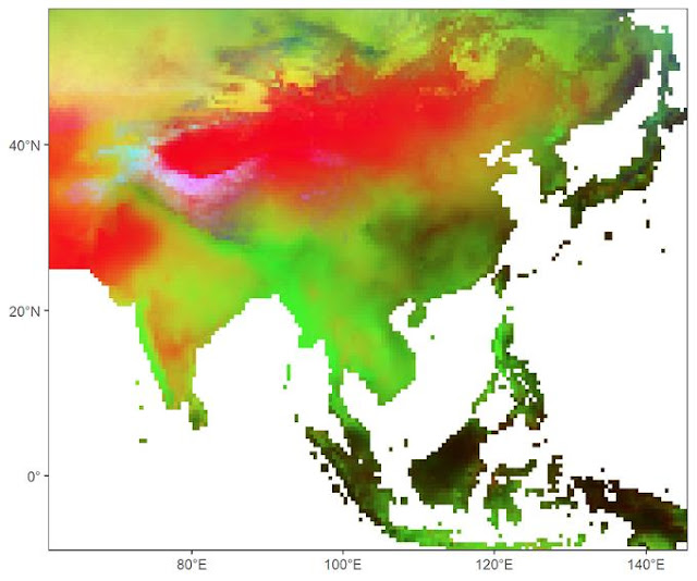 Largest study of Asia's rivers unearths 800 years of paleoclimate patterns