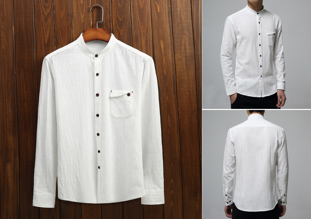 Model Baju Kemeja Pria Warna Putih Info Bandung