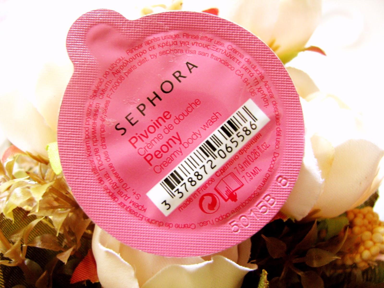 Sephora Creamy Body Wash Caps | Peony