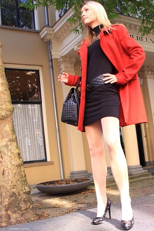 Little black dress streetstyle fashion