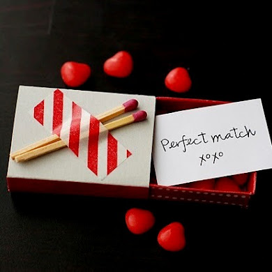 DIY Matchbox Love Notes for Valentine's Day