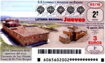 loteria nacional jueves 18 agosto 2016