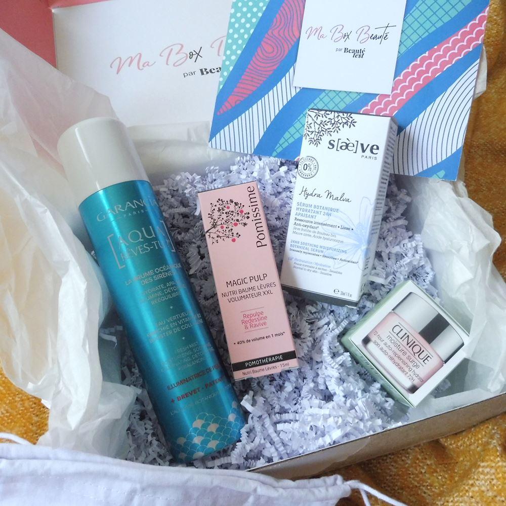 Ma Box Beauté par Beauté Test + code promo - Par Lili LaRochelle à Bordeaux