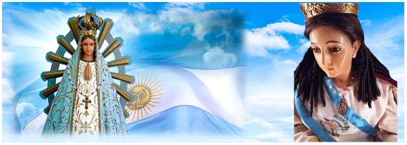 Arte Imagen Inmaculada argentina y Guatemala