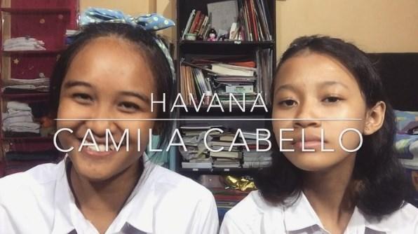 Video Musik Cover Havana - Camila Cabello oleh Meiviary dan Azahra
