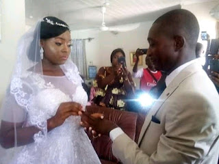 Couple Got Married In Their Living Room In Taraba State Due To Lockdown