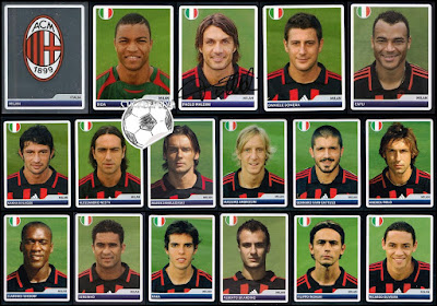 Milan Champions League Panini 2006/07