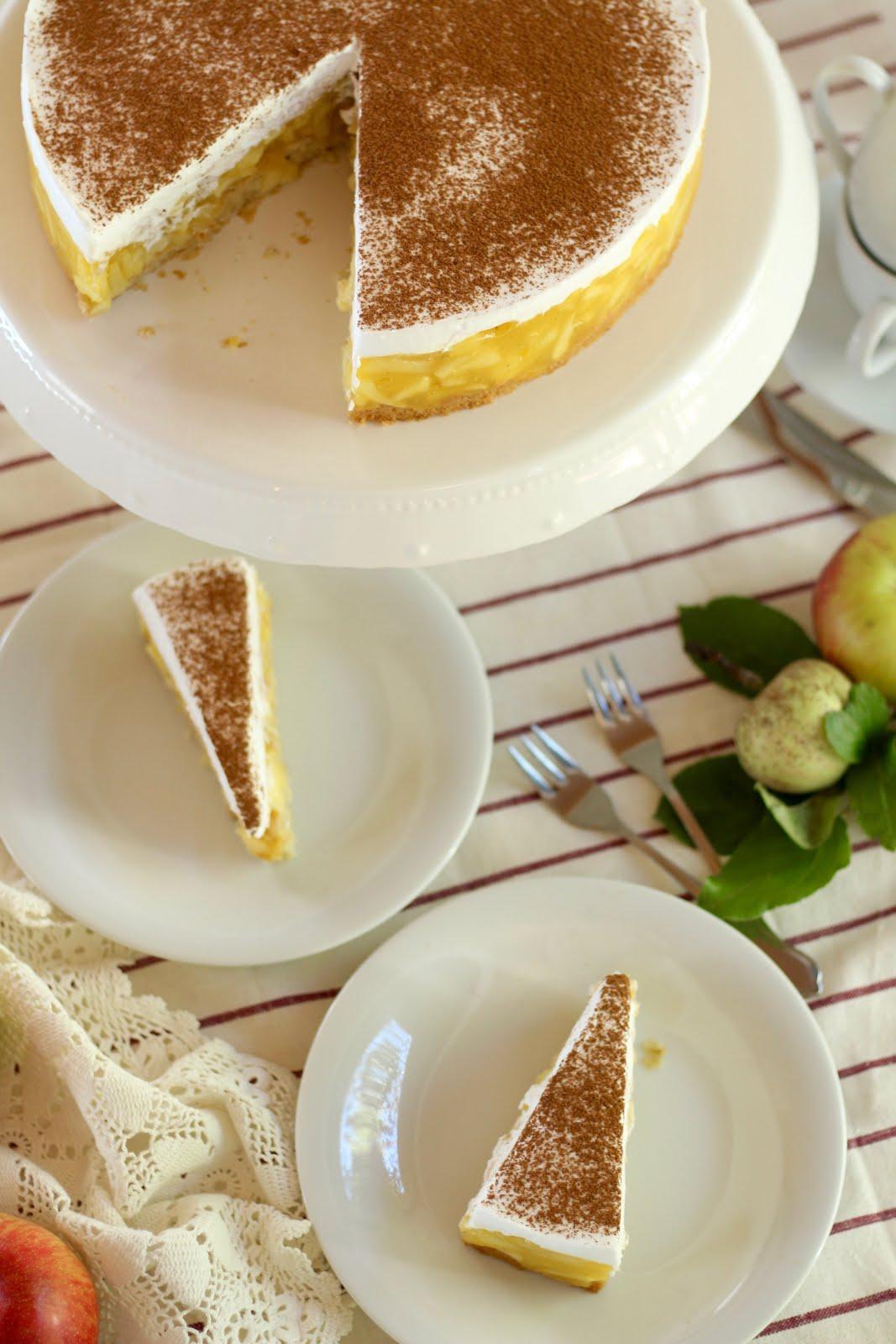 Schwedische Apfeltorte - Rezept und Video