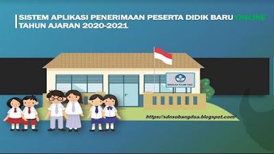 Buku Panduan PPDB Online TK SD SMP SMA SMK Tahun Pelajaran 2020/2021