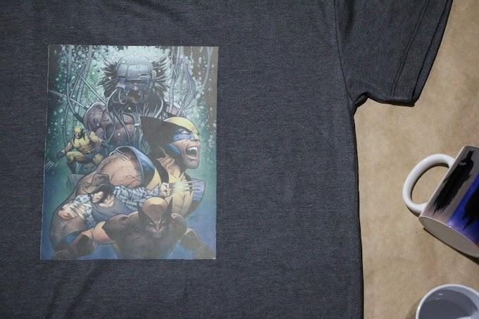 Camiseta Wolverine Evolução
