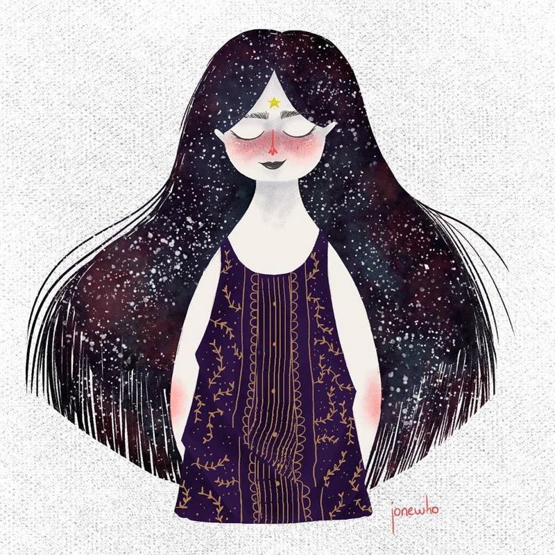 Illustrations by Jone Leal from Venezuela.
