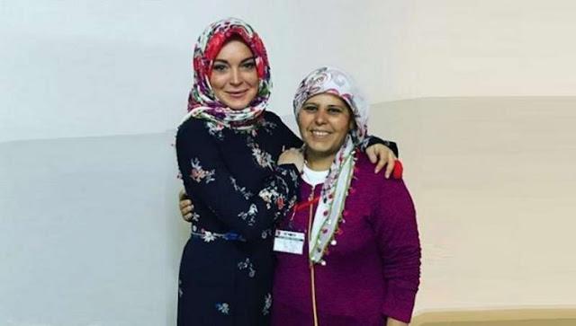 Sempat Belajar Islam dan Puasa, Bagaimana Kehidupan Lindsay Lohan Ramadan Kali ini