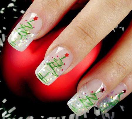 uñas-diseño-navidad